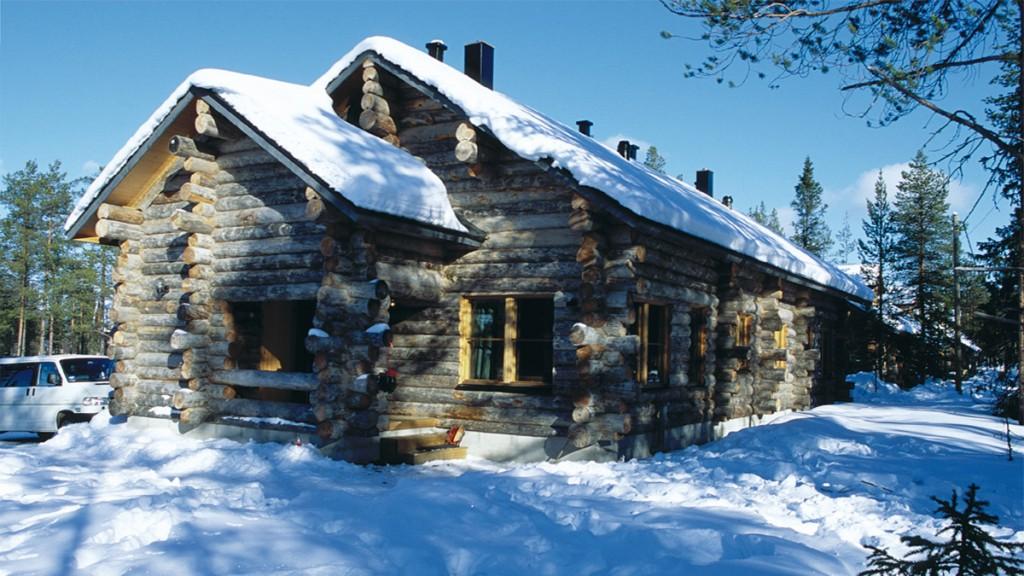 Коттедж на новый год в лапландии